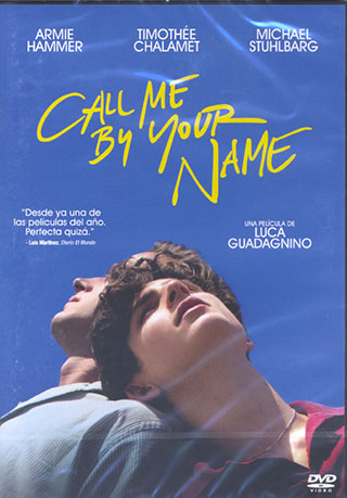 CALL ME BY YOUR NAME (LLÁMAME POR TU NOMBRE)